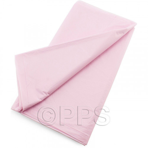 54'' x 54'' Plastic Table Covers Pink 2pc/24