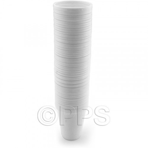 Drink Cups Plastic White 200ml 60pc/30