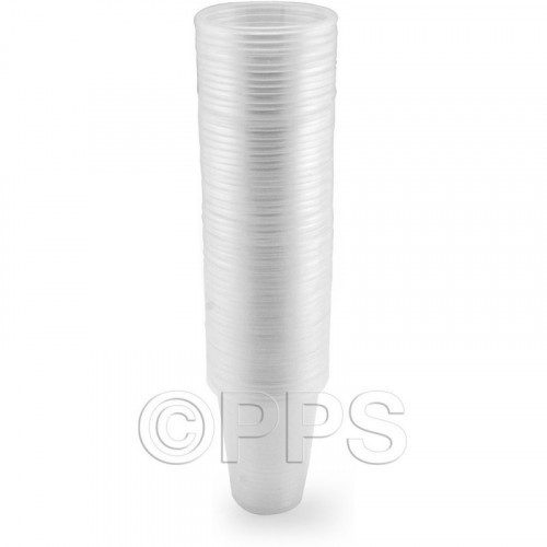 Drink Cups Plastic Clear 200ml 60pc/30