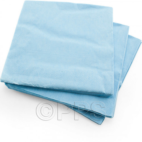 40cm 2ply Napkins Blue 30pc/33