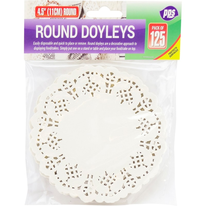 11.5cm Table Doyleys Round 125pc/48