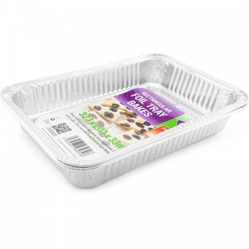 Foil Tray Bake 323x201x33mm 3pc/24