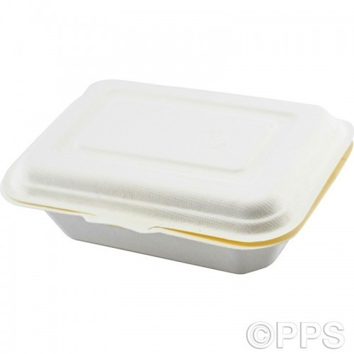 Food Box Bagasse 600ml 50pc/10
