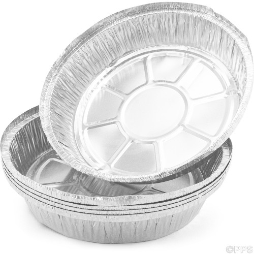 Foil Flan Dishes Large 200x22mm 5pc/24